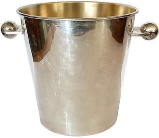 One Kings Lane Vintage Art Deco Silver-Plate Ice Bucket - nihil novi