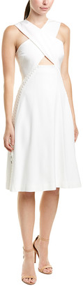 Jonathan Simkhai Johnathan Simkhai Crossover A-Line Dress
