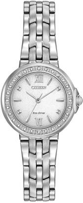 Citizen Women's Stainless Steel Diamond Watch