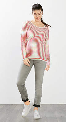 Esprit stretch jeans with over-bump waistband