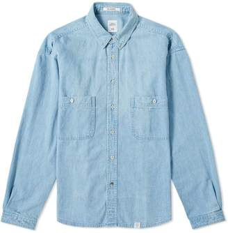 Bedwin&the Heartbreakers Bedwin & The Heartbreakers Marshall Denim Shirt