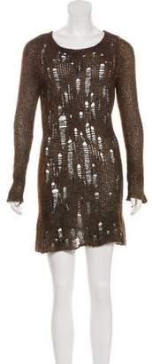 Avant Toi Cashmere Embellished Dress