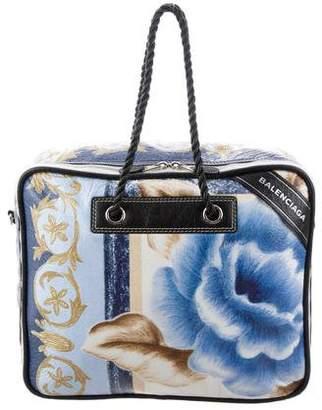 Balenciaga Blanket Square XL AJ Floral Tote
