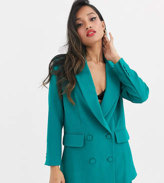 Asos Edition EDITION Petite double breasted jacket
