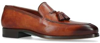 Magnanni Leather Tassel Loafers