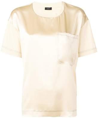 Joseph jersey satin T-shirt