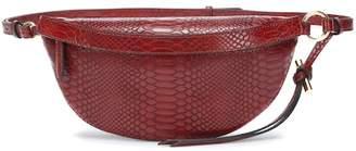 Stella McCartney Embossed faux leather belt bag