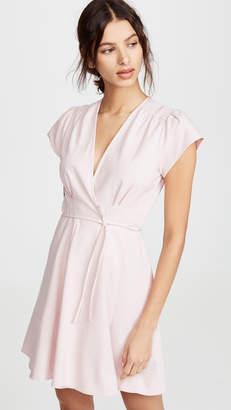 ROLLA'S Linen Dancer Wrap Dress