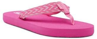 Teva Mush II Cruz Pink Sandal (Big Kid)