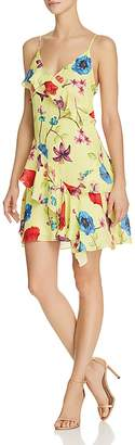 Parker Holly Ruffled Floral Dress