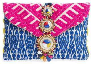 Steve Madden Steven by Beaded & Embroidered Clutch