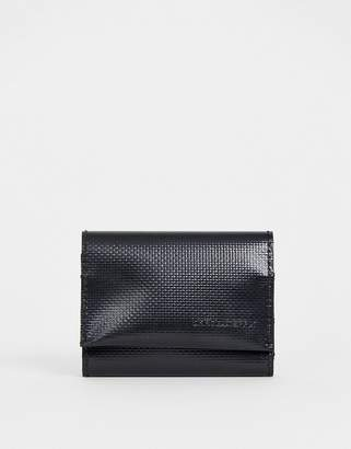 Asos Design DESIGN tri-fold wallet in black