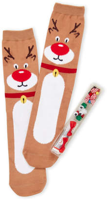 Your Own Soxland Design Realy Ugly Reindeer Socks