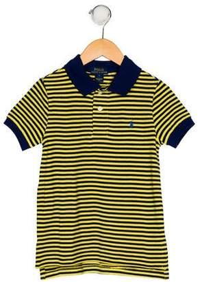 Polo Ralph Lauren Boys' Striped Collar Shirt w/ Tags