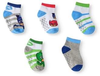 PJ Masks Baby Toddler Boy Heroes Quarter Socks, 5-pack