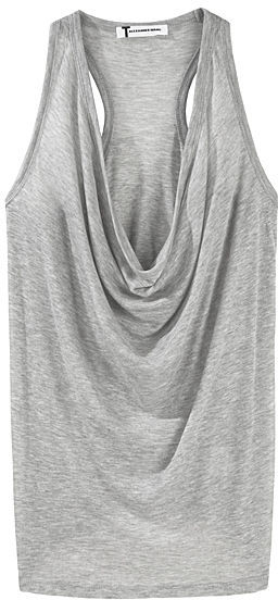 T by Alexander Wang Sheer Cowl Tank