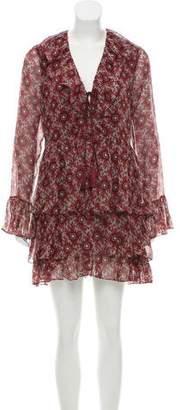 Cinq à Sept Silk Printed Dress