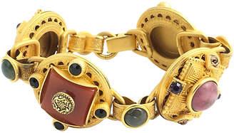 One Kings Lane Vintage Stambouli Etruscan-Style Bracelet - Owl's Roost Antiques