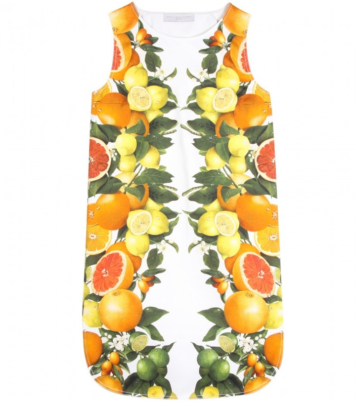 Stella McCartney CITRUS PRINT DRESS