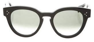 Celine Round Keyhole Sunglasses