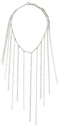 Dries Van Noten Crystal Fringe Necklace