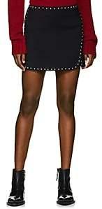 Helmut Lang Women's Studded Miniskirt-Black