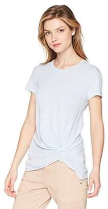 Stateside Women's Supima Slub Short Sleeve Twist Tee