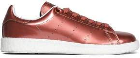 adidas Perforated Metallic Patent-Leather Sneakers