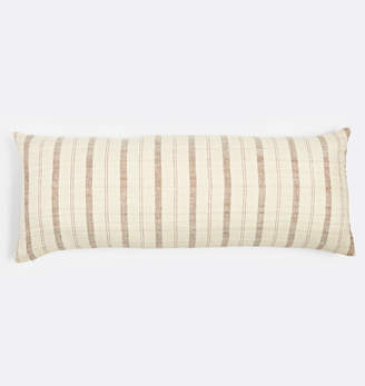Rejuvenation Stripe Handspun Raw Silk Pillow Cover
