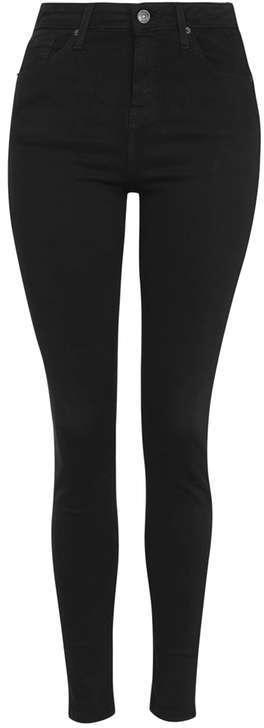 TopshopTall moto black jamie jeans