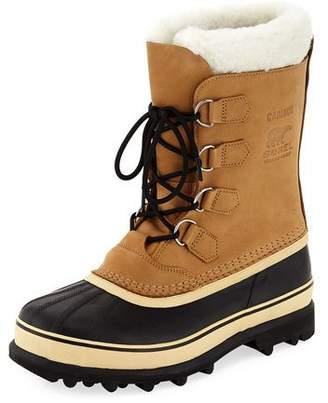 Sorel Men's Caribou Shearling-Lined All Weather Waterproof Duck Boot