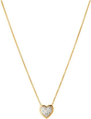 0305aaf7391 Links of London Diamond Essentials 18kt Yellow Gold Vermeil & Pave Heart  Necklace