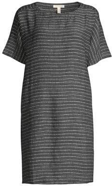 Eileen Fisher Linen Delave Tunic Dress