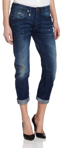 G Star G-Star Women's Arc 3D Kate Tapered Carbit Jean in Medium Aged