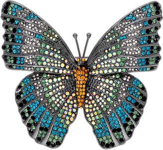 Joan Rivers Classics Collection Joan Rivers Magnificent Pave' Butterfly Brooch