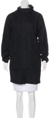 Helmut Lang Hooded Zip-Up Jacket w/ Tags