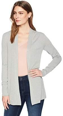 Lark & Ro Amazon Brand Women's Lightweight Long Sleeve Mid-Length Cardigan Sweater