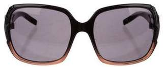 Valentino Tinted Two-Tone Sunglasses