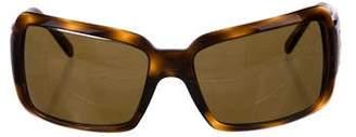 Bvlgari Tortoiseshell Square Sunglasses