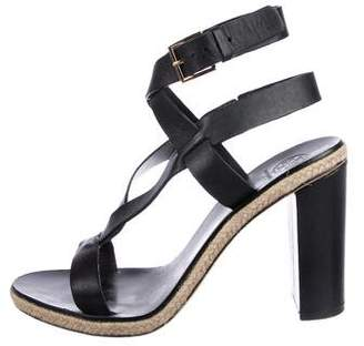 Tory Burch Leather Strap Sandals