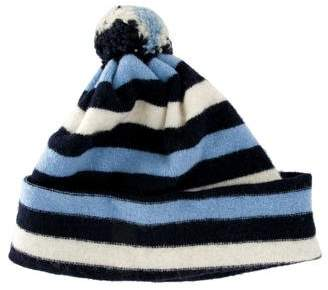 Burberry Wool Striped Beanie