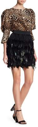 Gracia Feather Skirt