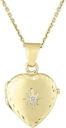 Sphera Milano 14K Italian Gold Heart Locket Necklace