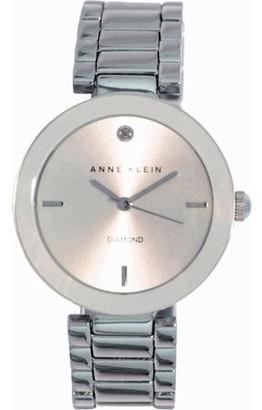 Anne Klein Women's AK-1363SVSV Silver Stainless-Steel Analog Quartz Fashion Watch