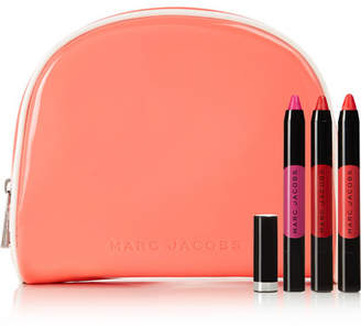 Marc Jacobs Beauty Somewhere, Anywhere Le Marc Liquid Lip Crayon Collection - Red