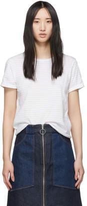 A.P.C. White Millbrook T-Shirt