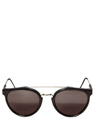 Super Giaguaro Acetate And Metal Sunglasses
