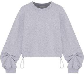 8a66fd6b2419d6 3.1 Phillip Lim Ring-detailed French Cotton-terry Sweatshirt