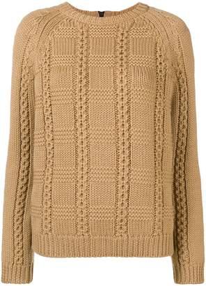 RED Valentino crew neck knit sweater