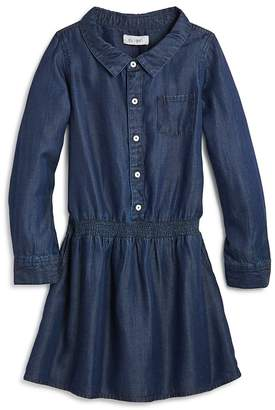 DL1961 Girls' London Chambray Shirt Dress - Big Kid